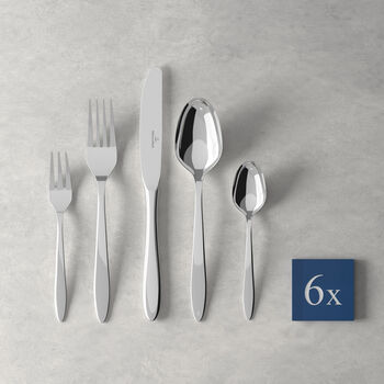 V&B Annalena ensemble de couverts de table, 30pièces, pour 6personnes
