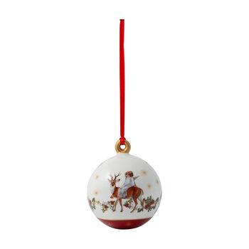 Annual Christmas Edition boule de Noël2020, 6,5x6,5x8cm