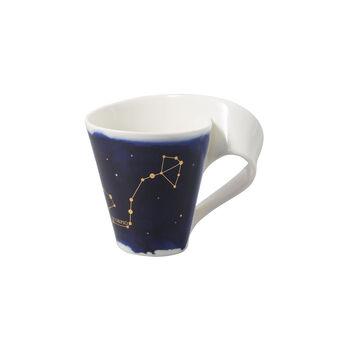 NewWave Stars mug scorpion, 300ml, bleu/blanc