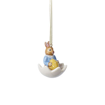Bunny Tales ornement Max dans une coquille d'œuf