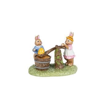 Bunny Tales figurine peinture sur œufs, multicolore