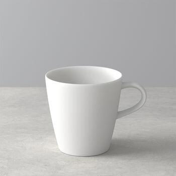 Manufacture Rock Blanc mug à anse, blanc, 12x9x10,5cm