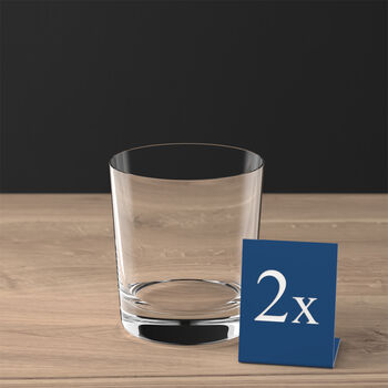 Purismo Bar petit verre à cocktail/eau ensemble de 2pièces