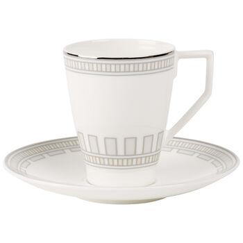 La Classica Contura Tasse à café avec soucoupe 2pcs