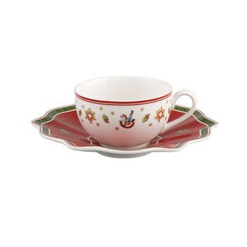 Toy's Delight Tasse à café/thé avec soucoupe 2pcs