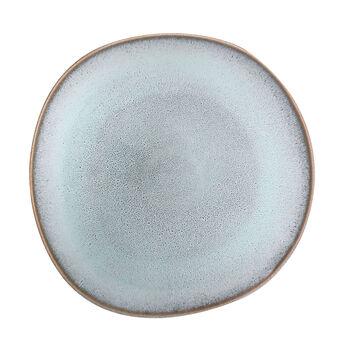 Lave Glacé assiette plate, turquoise, 28x28x2,7cm