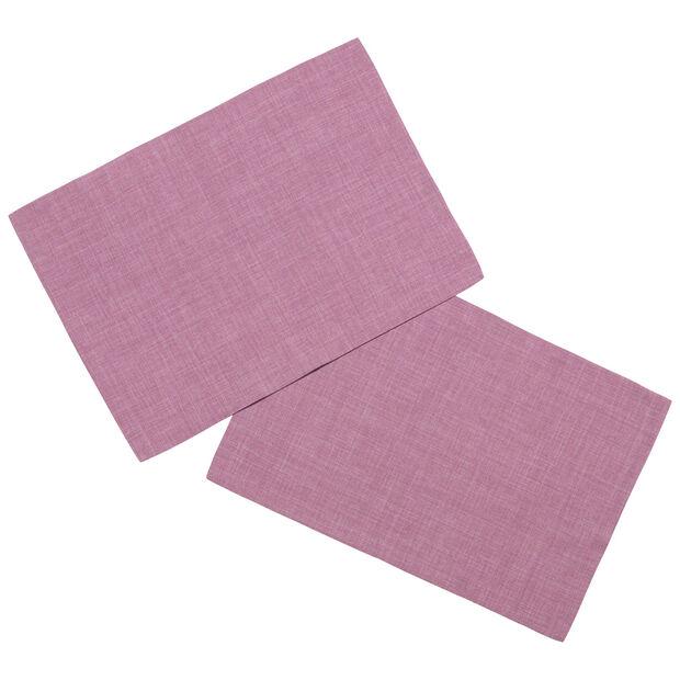Textil Uni TREND Set de table fuchsia S2 35x50cm, , large