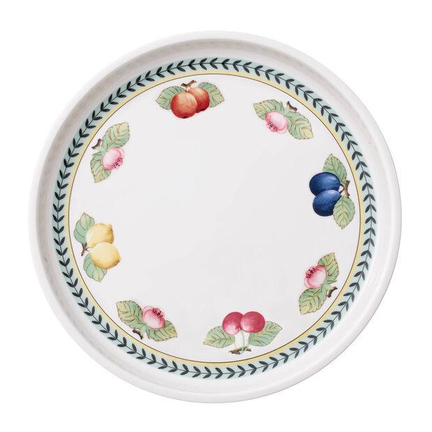 French Garden plats à gratin Plat à servir / Couvercle rond, , large