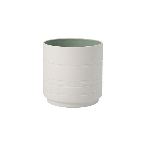 it's my home pot de fleurs Leaf, vert/blanc, , large