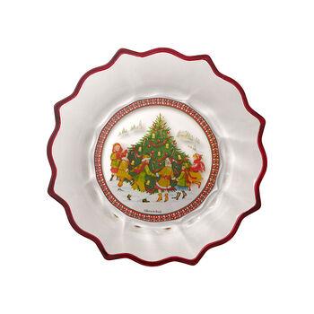 Christmas Glass Accessories coupe danse autour du sapin, transparente/multicolore, 25cm, 850ml