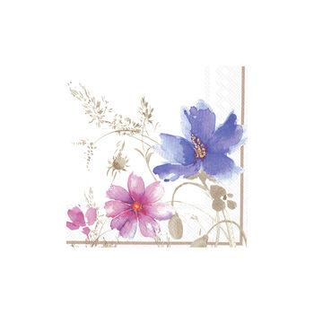 Serviettes en papier Mariefleur Gris 33x33cm