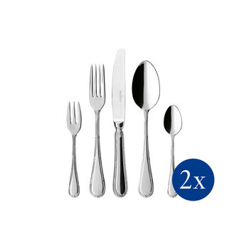 Kreuzband Septfontaines couverts de table 30pcs 42x27x5cm