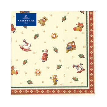 Winter Specials Toys Lunch Serviettes jouets, 20 pcs 33x33cm