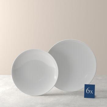 Voice Basic service de table, blanc, 12pièces