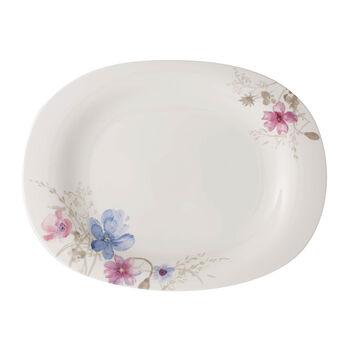 Mariefleur Gris Basic plat à servir 34cm