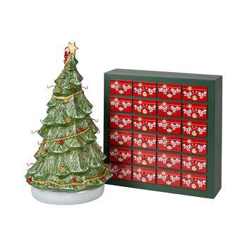 Christmas Toys Memory Calendrier de l'Avent 3D sapin 25x32x43cm