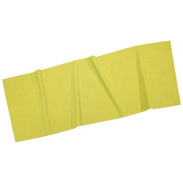 Textil Uni TREND Chemin de table limon 50x140cm, , large