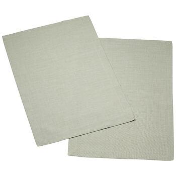Textil Uni TREND Set de table fog green Set 2 35x50cm