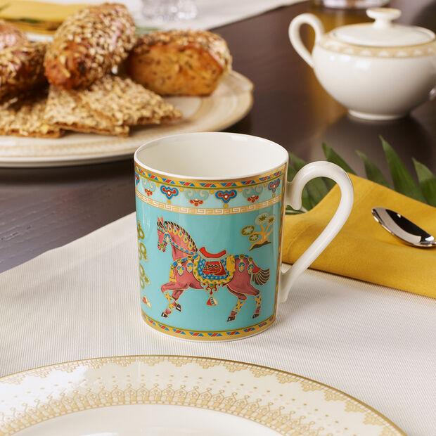 Samarkand Aquamarin mug à café à anse, , large