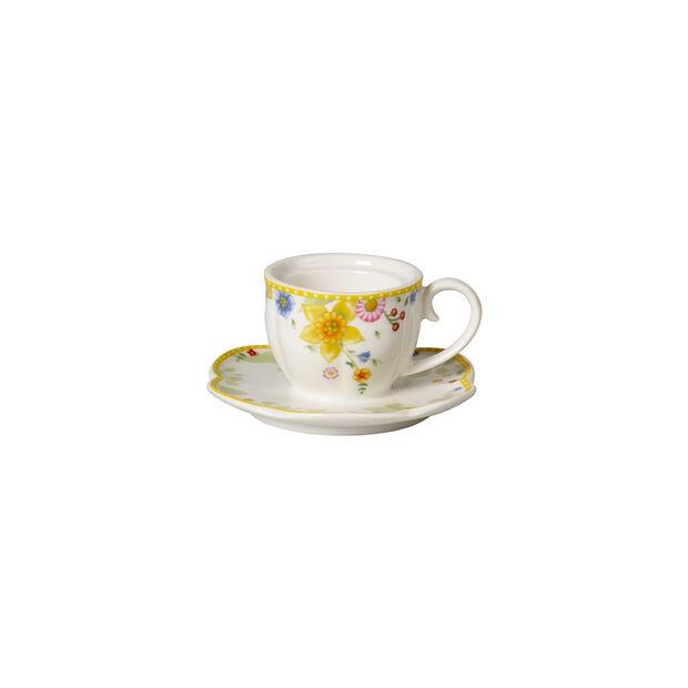 Spring Awakening support pour bougie chauffe-plat, tasse, jaune/multicolore, , large