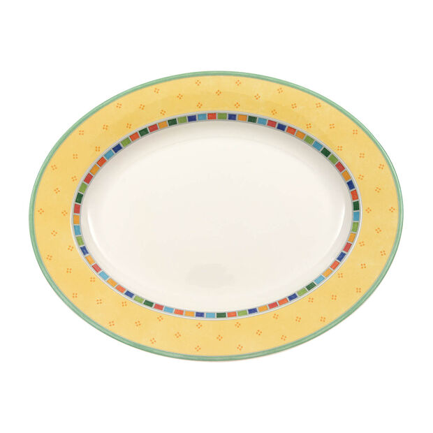 Twist Alea Limone plat ovale 41cm, , large
