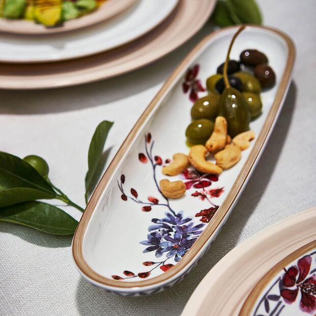 Artesano Provençal Lavande coupe à olives 28x8cm, , large