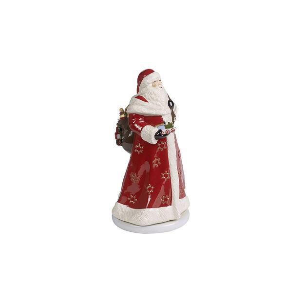 Christmas Toy's Memory Père Noël rotatif, rouge/multicolore, 17,5x20x34cm, , large
