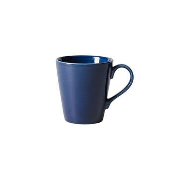 Organic Dark Blue mug à anse, bleu foncé, 350ml