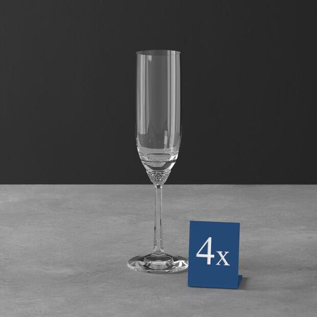 Octavie flûte à champagne, 4pièces, , large