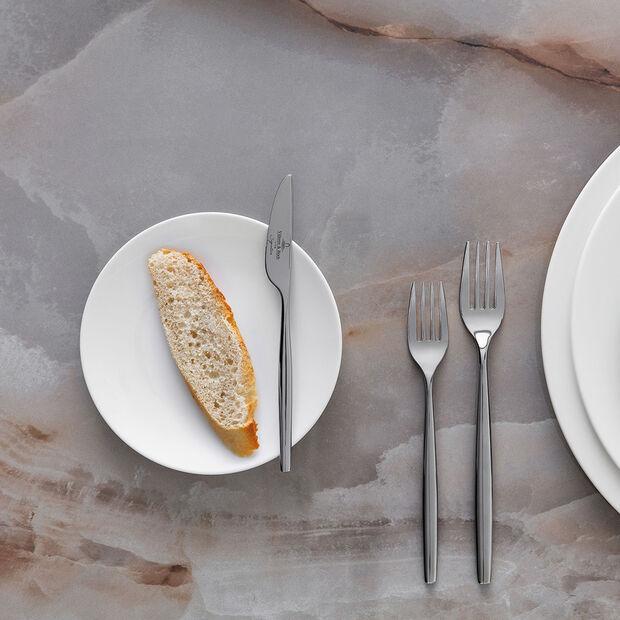 MetroChic blanc assiette à pain, blanche, , large