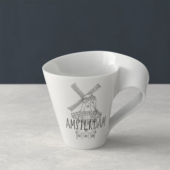 Modern Cities mug à café, Amsterdam, 300ml