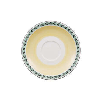 Charm & Breakfast French Garden Soucoupe tasse café au lait XL 20cm