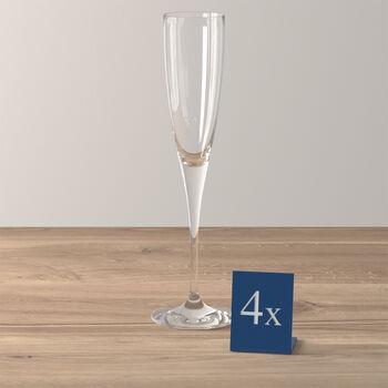 Maxima flûte à champagne, 4pièces