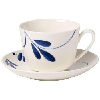 Vieux Luxembourg Brindille Tasse à café/thé avec soucoupe 2pcs