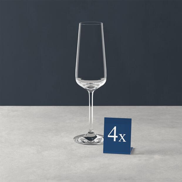 Ovid flûte à champagne, ensemble de 4pièces, Villeroy & Boch, , large