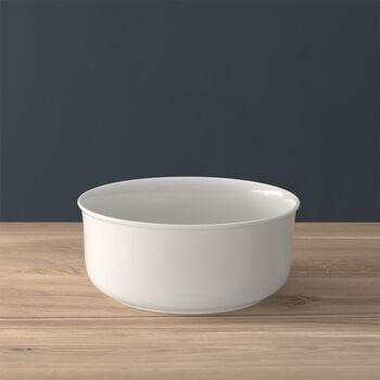 Twist White plat creux rond