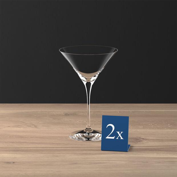 Purismo Bar verre à cocktail/Martini ensemble de 2pièces, , large