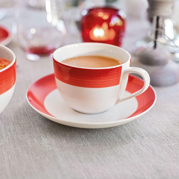 Colourful Life Deep Red sous-tasse à café, , large