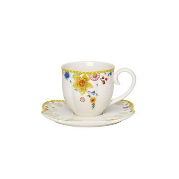 Spring Awakening tasse à café avec sous-tasse, 260ml