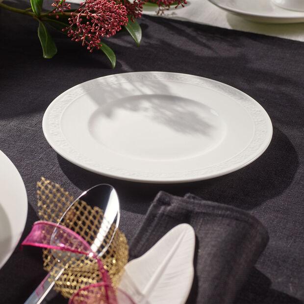 White Pearl assiette à pain, , large
