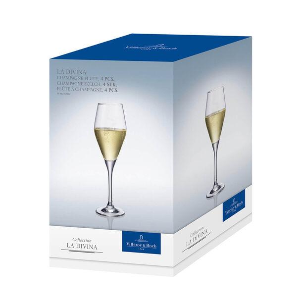 La Divina flûte à champagne, 4pièces, , large