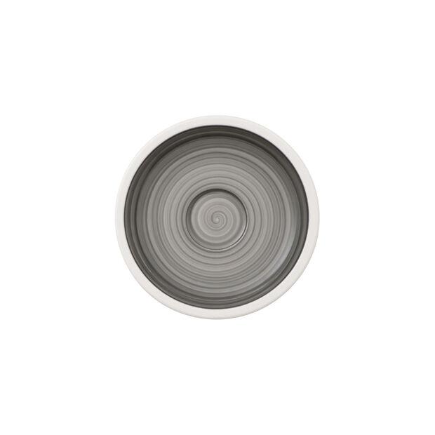 Manufacture gris sous-tasse à moka/expresso, , large