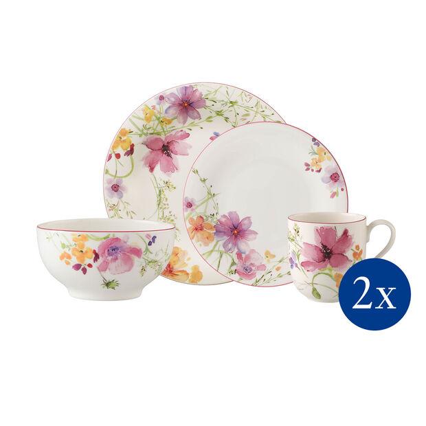 Mariefleur Basic ensemble de vaisselle Starter 8pièces, , large