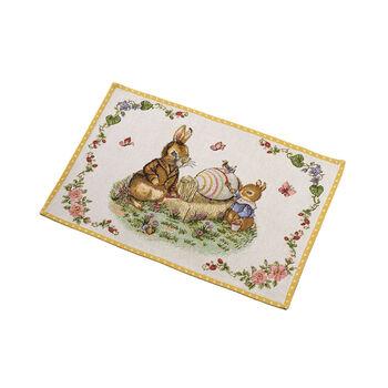 Spring Fantasy set de table Gobelin grand-père et Max, 32x48cm, multicolore