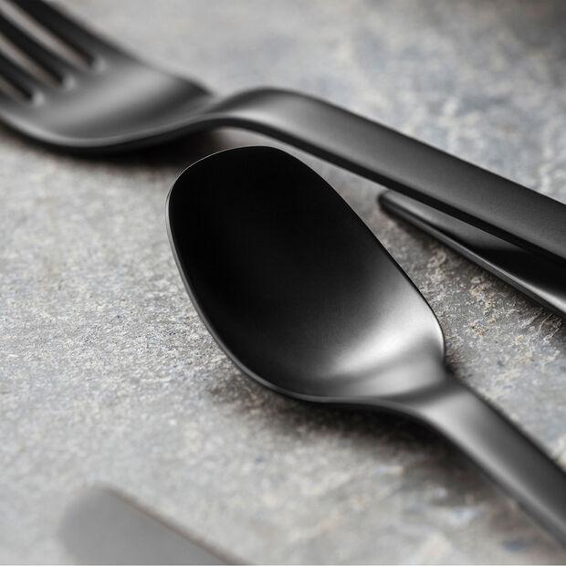 Manufacture Rock couverts de table, pour 4personnes, 20pièces, noirs, , large