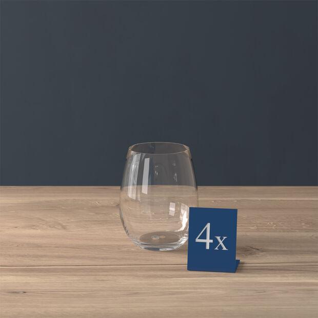 Entrée verre à eau, 480 ml, 4pièces, , large