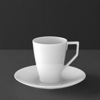 La Classica Nuova Tasse à café avec soucoupe 2pcs
