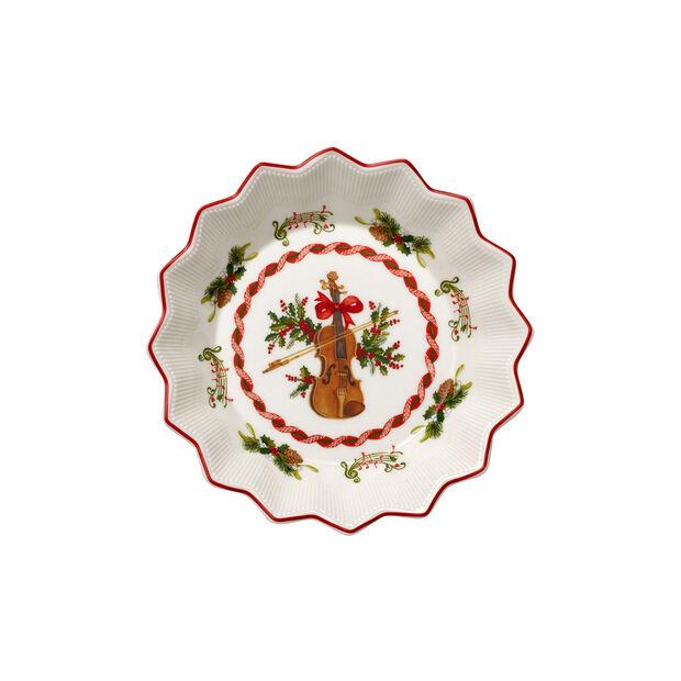 Toy's Fantasy petite coupe motif violon, rouge/coloré, 17x17x3cm, , large