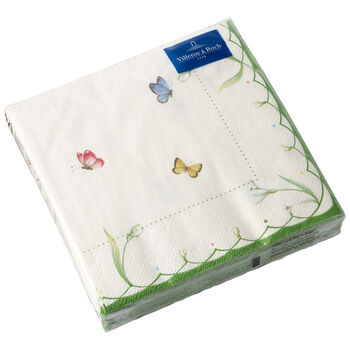 Colourful Spring serviettes en papier, 20pièces, 25x25cm
