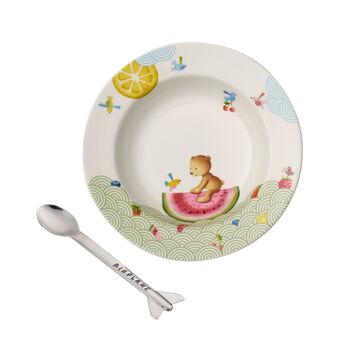Hungry as a Bear Ensemble pr le repas pr enfants, 2pcs